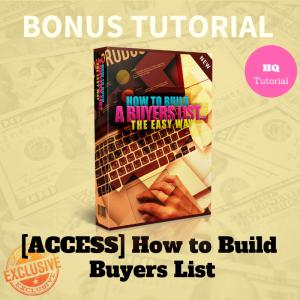 Building Buyers List