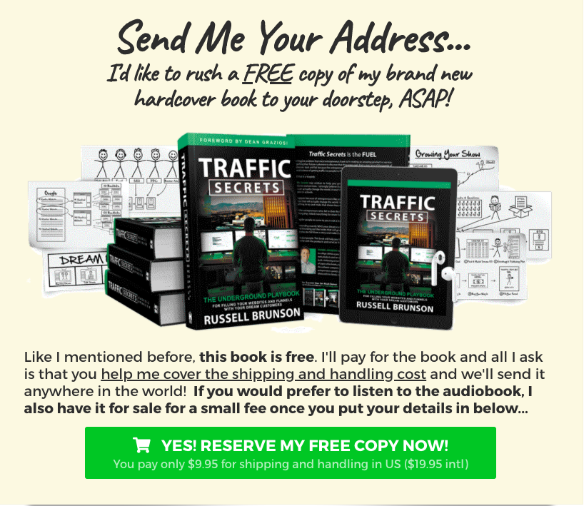 Get Traffic Secrets Book